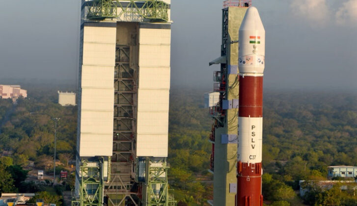 India's Record Launch of 104 Satellites maximum satellites launch world records Indian maximum satellites Launch world record | India launches 104 satellites Indias Record Launch of 104 Satellites 727x420